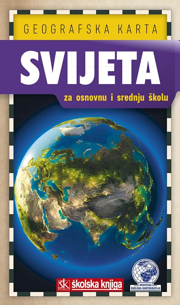 Procitajte Naslov Geografska Karta Svijeta Za Os I Ss Autora