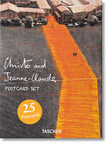 Christo postcard set