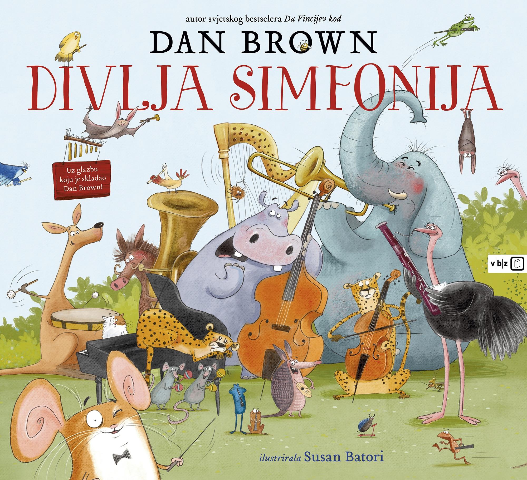 Dan Brown najavio prvu glazbenu slikovnicu za djecu 'Divlja simfonija'