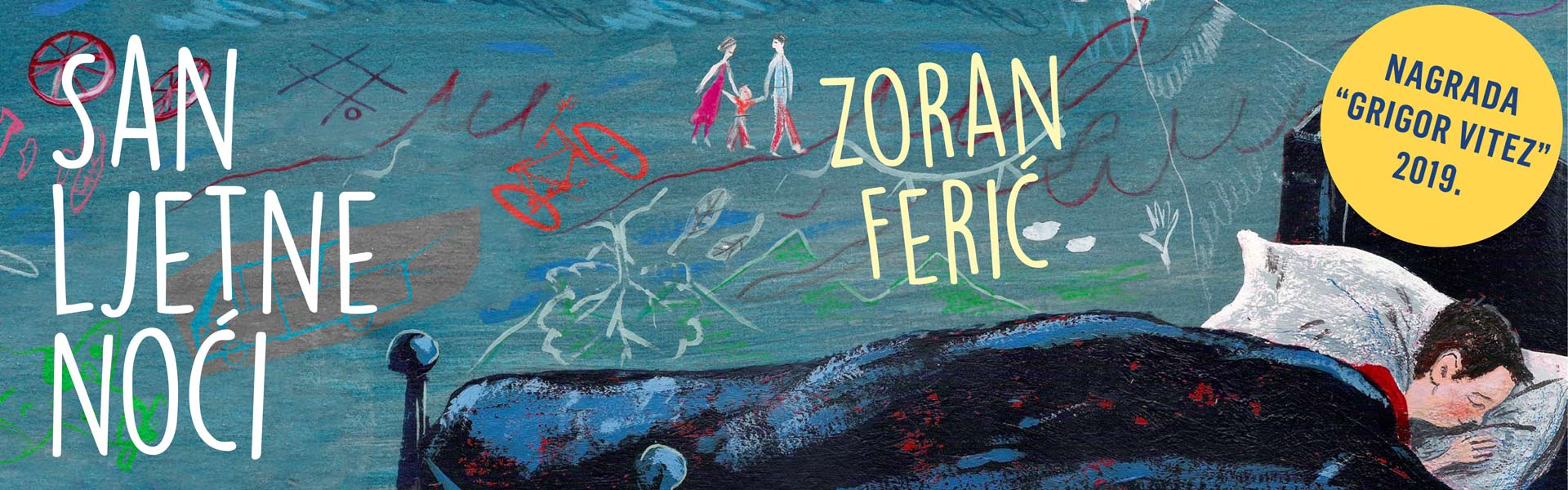 Zoran Ferić dobio nagradu 'Grigor Vitez'
