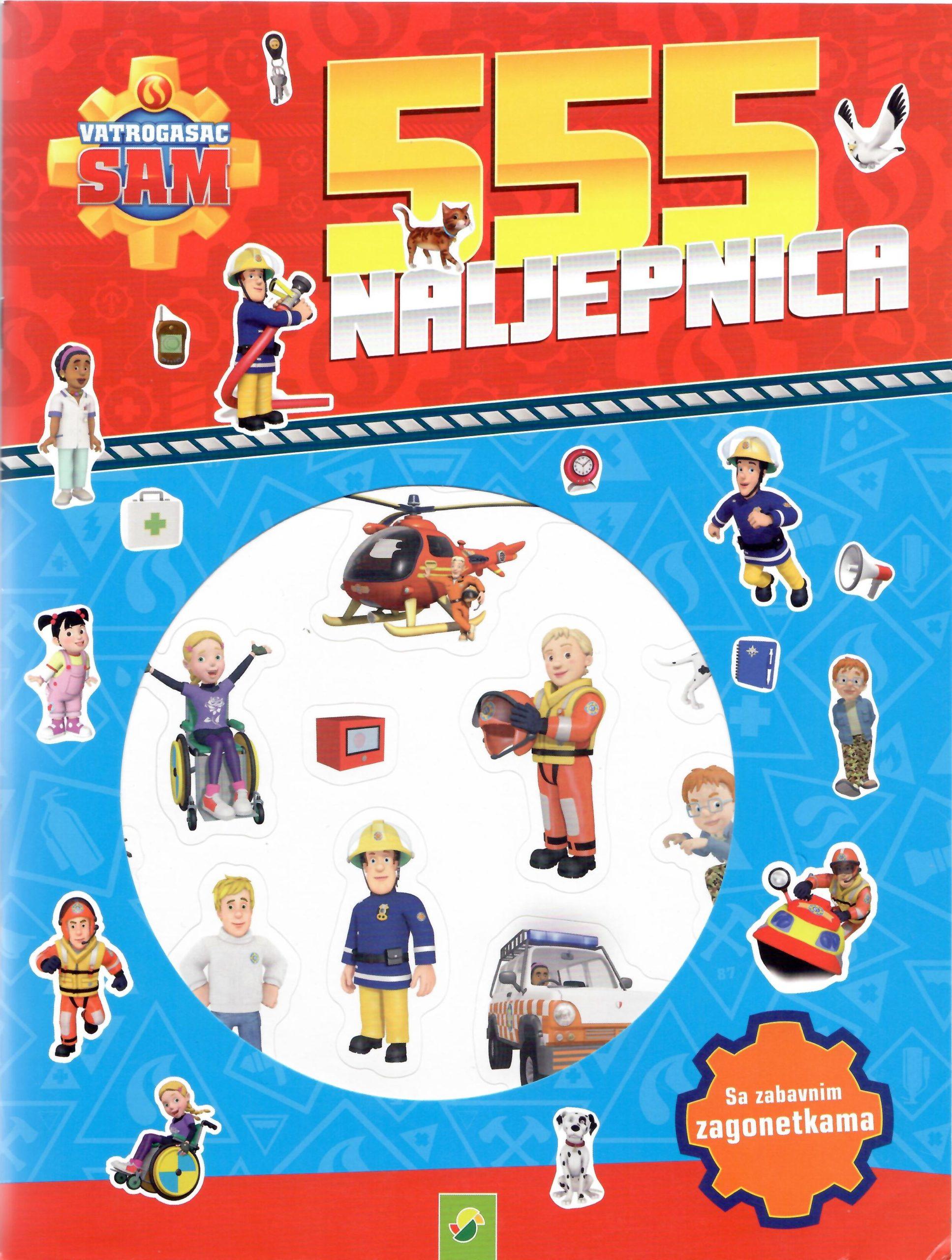 555 naljepnica vatrogasac sam