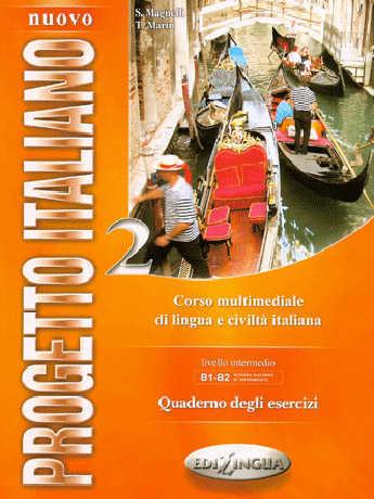 Nuovo Progetto Italiano 2 Esercizi + 2 CD
